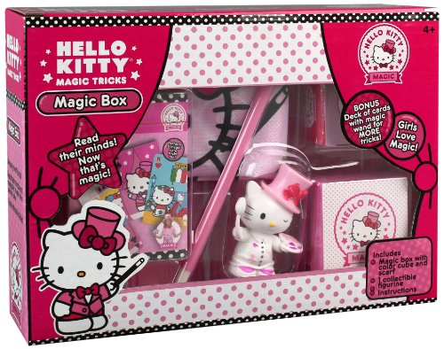 Hello Kitty Mind Reading Cube Magic Set