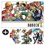 セブンイレブン nanacoカード ワンピース A-TYPE 麦わらの一味 クリアファイル3枚付き