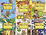 Wee Sing 6 Book Set- Waiter, Just one More Cracker; Wiggleworm Workout Whew!; Round N Round & Day is Done; On the Farm, Pond and Air; In the Garden, Forest & Zoo, A Growing Nation