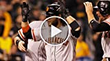 Crawford's HR Helps Giants Oust Pirates