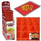 Silicone Fat Reducing Non Stick Cooking Mat Oven Baking Tray Sheet Pyramid Pan Shopmonk