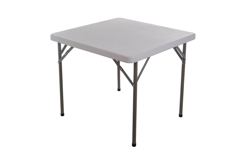 homcom 34 square multipurpose folding banquet table. Black Bedroom Furniture Sets. Home Design Ideas