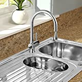 SP Drake Mono Block Mixer Pull Out Sink Tap WRAS Approved