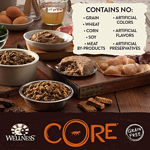 Wellness CORE Grain Free Weight Management Natural Wet Canned Dog Food, 12.5-Ounce Can (Pack of 12)_Image3