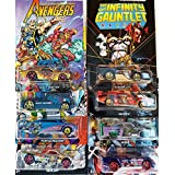 Hot Wheels Marvel The Avengers Series Special Edition Bundle (8 Cars)