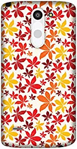 The Racoon Grip Autumn Fall hard plastic printed back case / cover for LG G3 Stylus