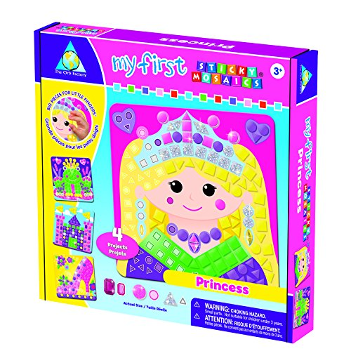 The Orb Factory My First Sticky Mosaics® Princess - 1