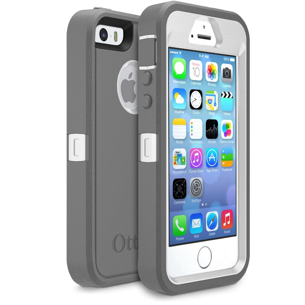 Authentic OtterBox Defender Cases + Belt Clip for iPhone 5 ...