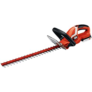 Black and Decker LHT2220 22-Inch 20-Volt Lithium Ion Cordless Hedge Trimmer