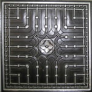 Drop ceiling tiles 301 antique silver modern ceiling - Modern drop ceiling tiles ...
