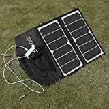 [New Release] Poweradd™ High Efficiency 14W Foldable Solar Panel Portable Solar Charger for iPhones, iPads, Samsung Galaxy Phones, other Smartphones and Tablets, Gopro Cameras and More