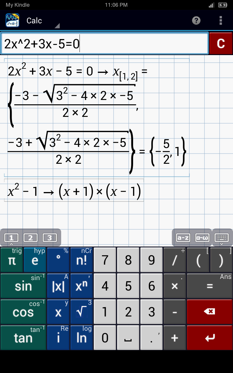 Graphing Calculator by Mathlab Pro is the Free App of the Day ...