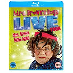 Mrs. Brown's Boys Live Tour / Mrs. Brown Rides a [Blu-ray]