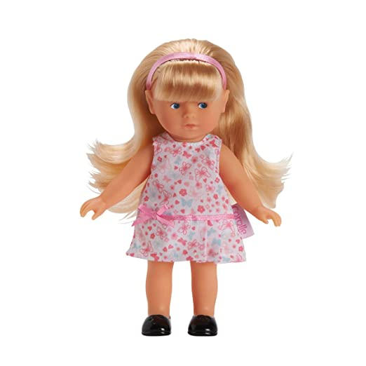Corolle - W9360 - Mini-Poupée- Mademoiselle Corolle - Mini Corolline Blonde - Modèle aléatoire