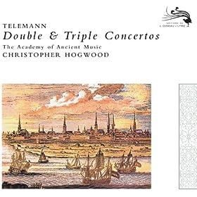 Telemann: Concerto for Recorder, Flute, Strings and Continuo in E minor - 2. Allegro