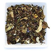 White Coconut Cream White Loose Leaf Tea - Low Caffeine - Organic (3.5oz / 100g)