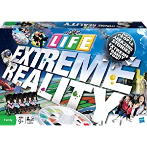 Game of Life Extreme Reality board game!