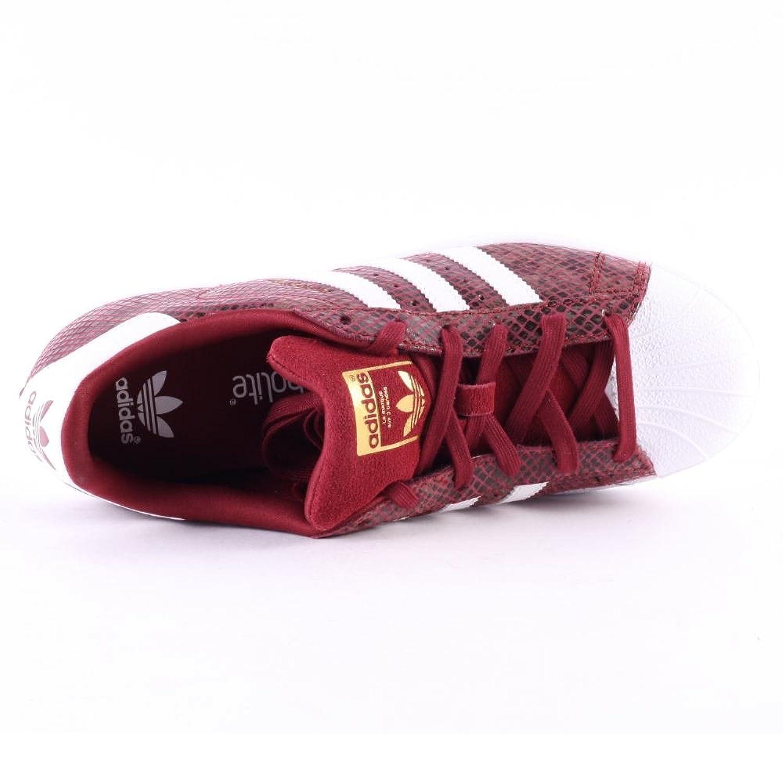 adidas superstar serpent rouge