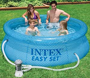Intex Clearview Easy Set Pool 54912gs Inflatable Pool With