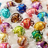 Lindt LINDOR 11-Flavor Milk, White, 60% Extra Dark, Mint, Hazelnut, Dark, Strawberry & Cream, Peanut Butter, Stracciatella, Peppermint, Sea Salt - 2 lb Truffle chocolate Gift Box