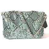 Rebecca Minkoff Collection Green Python Cali Shoulder Bag