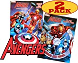Marvel Mighty Avengers® Coloring and Activity Book Set (2 Books ~ 96 pgs each)