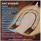 Sings At The Toronto Horseshoe Club
