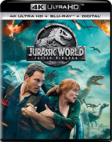 4K Blu-ray : Jurassic World: Fallen Kingdom (With Blu-ray, 4K Mastering, 2 Pack, 2PC)