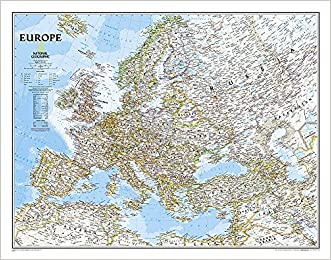 Europe Classic [Laminated] (National Geographic Reference Map)