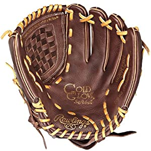 Rawlings Gold Glove Fastpitch GG25FPBR Baseball Glove (12.5-Inch, Right Hand Throw)