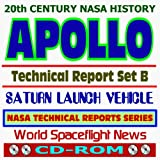 img - for 20th Century NASA History: Apollo Technical Reports - Set B, Saturn Launch Vehicle, Saturn 5 Rocket (CD-ROM) book / textbook / text book