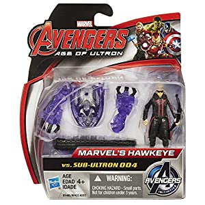 Marvel Avengers Age of Ultron hawkeye vs Sub-Ultron 004 Action Figure Pack