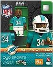 NFL Miami Dolphins NFL Generation 2 Series 1 Minifigure Damien Williams