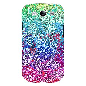 Jugaaduu Flower Gardens Pattern Back Cover Case For Samsung Galaxy S3 Neo GT- I9300I