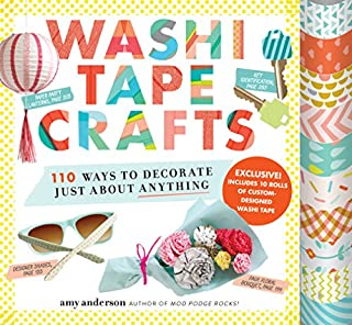 Book Cover: Washi Tape Crafts: 110 Ways to Decorate Just About Anything