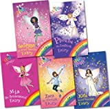 Daisy Meadows Rainbow Magic Magical Days 5 Books Gift Pack RRP: £ 21.95 (Sabrina the sweet Dreams Fairy, Phoebe the Fashion Fairy, Zara the Starlight Fairy, Mia the Bridesmaid Fairy, Kate the royal Wedding Fairy)