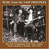 Music From The Lost Provinces: Old-Time Stringbands From Ashe County, North Carolina & Vicinity 1927-1931 ~ Frank Blevins