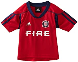 MLS Chicago Fire Blank Home Call Up Jersey, Infant by adidas