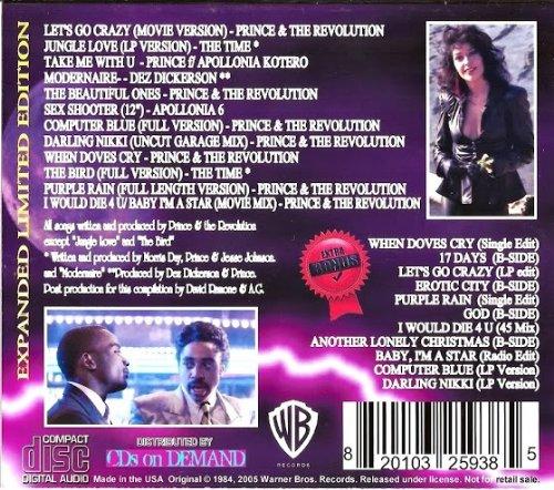 Purple Rain 2cd Set bootleg on Amazon