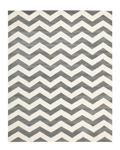 Safavieh Chatham Rug, Dark Grey/Ivory, 11' x 15'