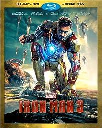 Iron Man 3 (Two-Disc Blu-ray / DVD + Digital Copy)