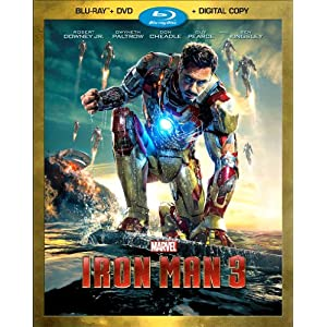 Iron Man 3 (Two-Disc Blu-ray / DVD + Digital Copy): Robert Downey Jr., Gwyneth Paltrow, Don Cheadle, Guy Pearce, Rebecca Hall, Stephanie Szostak, James Badge Dale, Jon Favreau, Ben Kingsley, Shane Black images