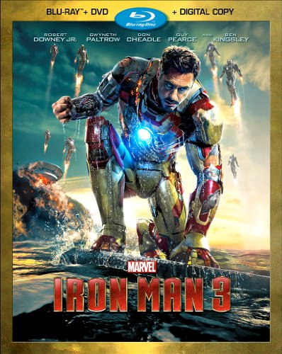 618j5nvDiWL Iron Man 3 (Two Disc Blu ray / DVD + Digital Copy)
