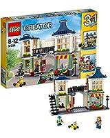 レゴ クリエイター おもちゃ屋と町の小さなお店 31036