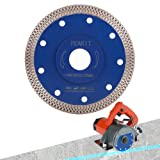 Peakit Dry Wet Tile Saw Blade 4 1/2 Inch Porcelain Diamond Blade Ceramic Cutting Disc Wheel for Angle grinder (Color: 4.5 inch blue, Tamaño: Medium)