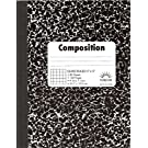 Norcom Quad Composition Book, 9.75 x 7.5 Inches, 5 x 5 Quad, 80 Sheets
