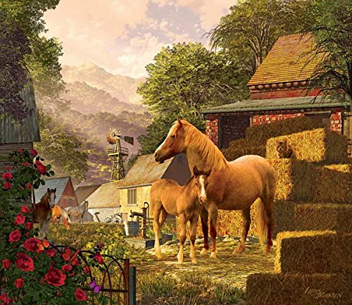 Meadowbrook Farm a 550-Piece Jigsaw Puzzle by Sunsout Inc.