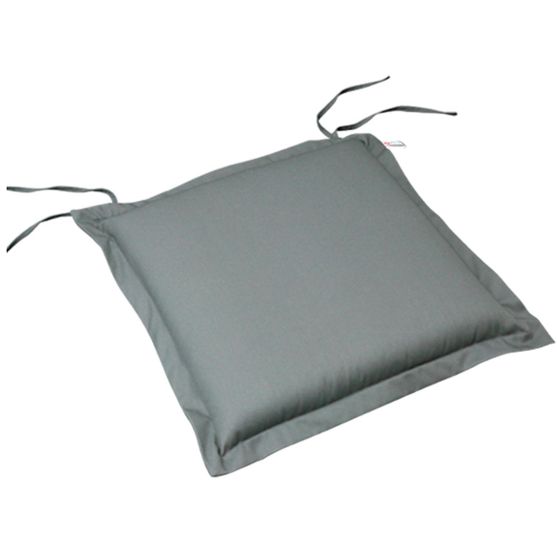 indoba® IND-70424-AUSK-2 – Serie Premium – Sitzkissen Gartenmöbel – extra dick, Grau – 2 Stück online bestellen