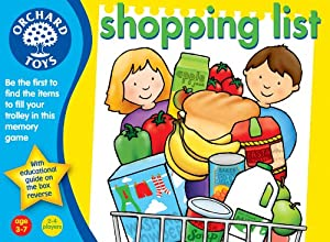 Shopping List by Orchard Toys