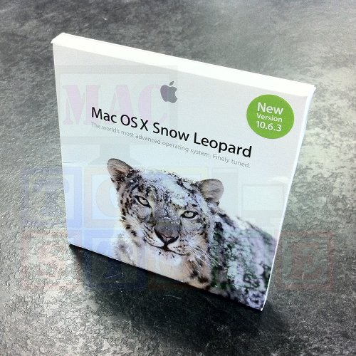 Mac OS X Snow Leopard 10.6.3 DVD-ROM Fullest extent Version In Retail Box